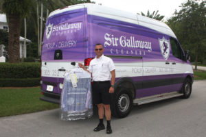 Manny, Sir Galloway Cleaners' Route Driver (route 1)