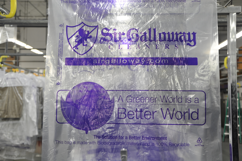 Sir Galloway's eco-friendly bags