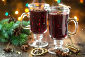 """""""Mulled"""" wine, eqaul parts tasty and stain-maker!"""
