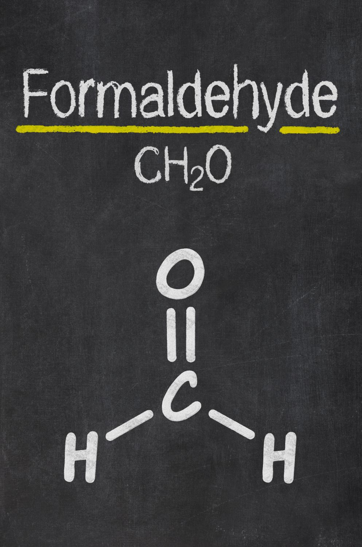Formaldehyde molecular structure