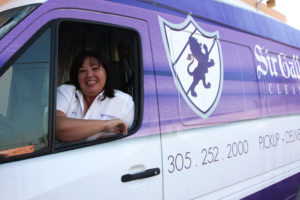 Adela, Sir Galloway Cleaners' Route Driver (route 3)