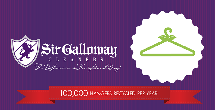 Sir Galloway commits 100,000 recycled hangers per year