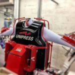 Unipress Lightning Series shirt press